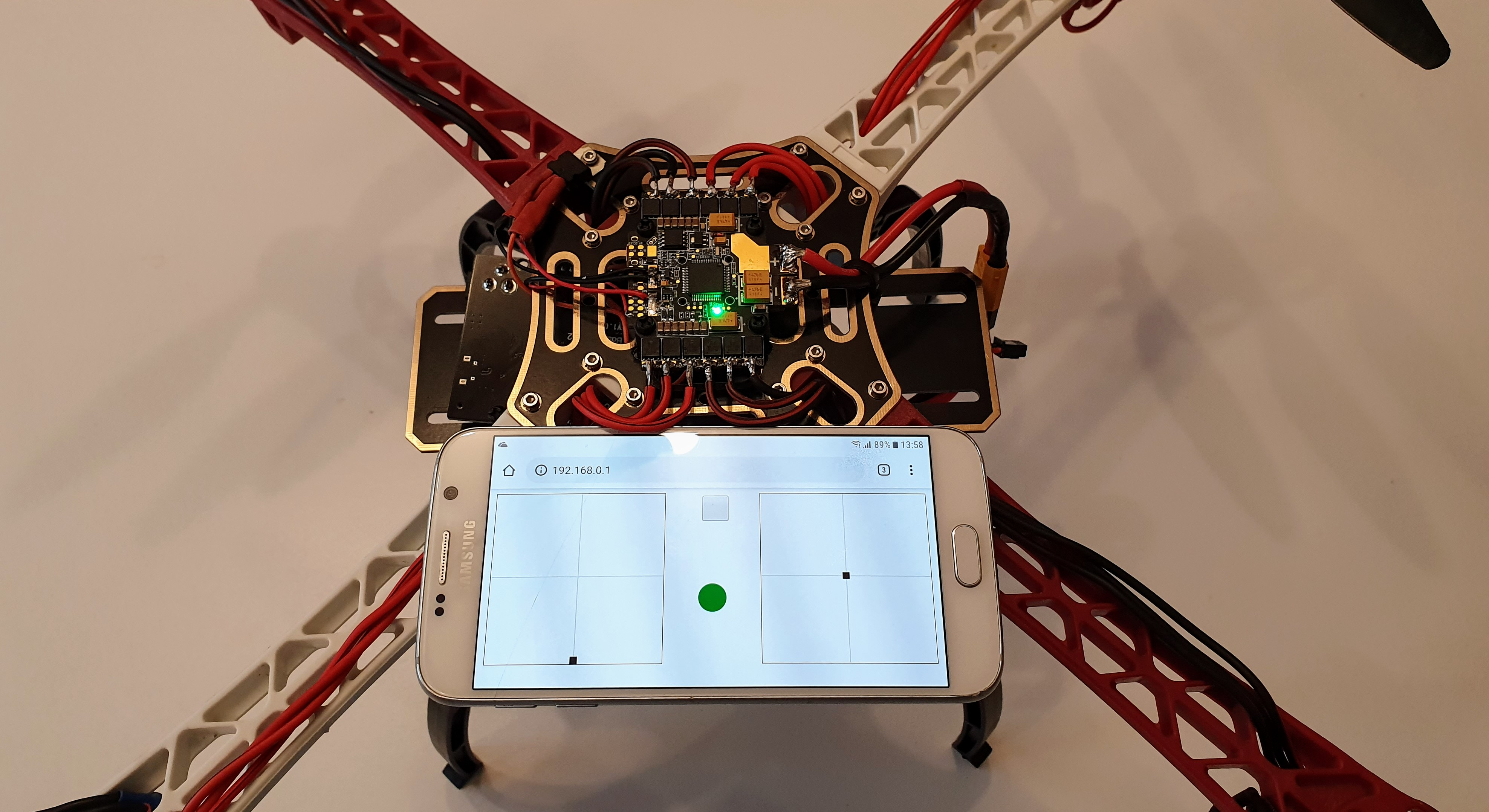 How to Build a ESP32 Drone controlled by Web browser | RC Controller